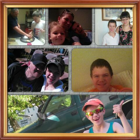 Hosler family collage