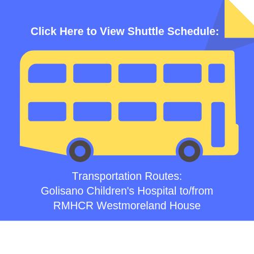 Transportation Schedule_ Golisano Children's Hospital